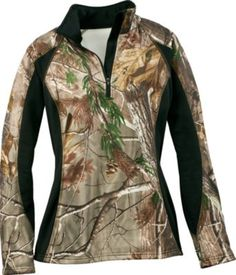 Cabela's: AGO Women's Stretch Fleece Top from Cabela's. Saved to Country Girl at Heart Country Girls Outfits, Country Girl Style, My Style, Country Life, Country Bumpkin, Country Wear, Country Fashion, Camo Outfits, Redneck Outfits