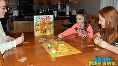 In Camel Up by Z-Man Games, players hedge bets at the local camel race. Gambling on which will win and lose, the player with the most money at the end wins. - SahmReviews.com