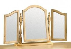 Show more information on Pickwick Triple Mirror