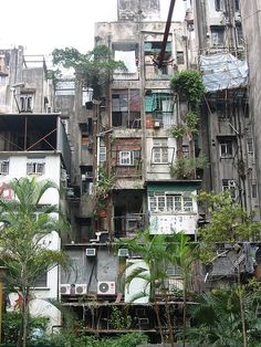 All sizes   Hong Kong old flats   Flickr - Photo Sharing!