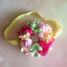Marie Flower Headband-M2M Cheeky Plum Headband-M2M Matilda Jane-M2M Sweethoney-Special Occasion-Birthday Headband-Baby Headband-Flower Headb by LosBowtique on Etsy https://www.etsy.com/listing/236737607/marie-flower-headband-m2m-cheeky-plum