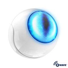 Fibaro FGMS-001 Multi Functional Sensor with Z-Wave Technology White Security Sensors Motion Sensors