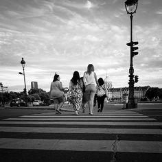 crossing girls