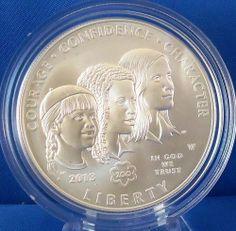 2013 W Girl Scouts of the USA Centennial Commemorative Specimen Silver Dollar