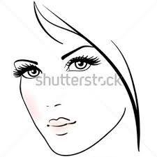 Resultado de imagen de elegant woman drawing