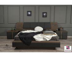 ΚΡΕΒΑΤΟΚΑΜΑΡΑ SOHO Bedroom Furniture Design, Bed Furniture, Bedroom Sets, Home Bedroom, Bedrooms, Wood Screws, Double Beds, Bed Design, Bed Frame
