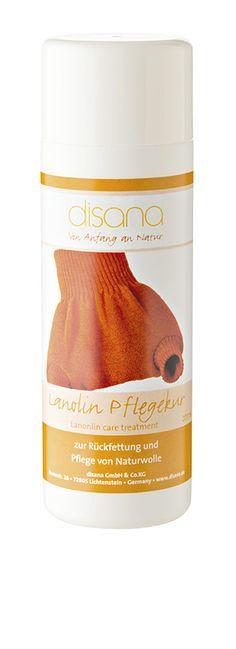 Disana Liquid Wool & Silk Conditioner / Disana tekutý (Lanolín) kondicionér na vlnu a hedvábí