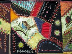 Crazy Quilt / Embroidery