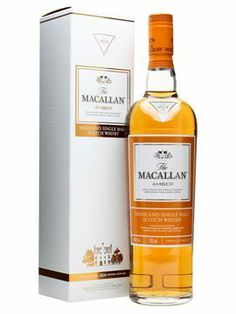 The Macallan Amber Whisky for sale in our online liquor store in South Africa. Buy The Macallan Amber Whisky online in South Africa today Cigars And Whiskey, Bourbon Whiskey, Scotch Whisky, Whisky Single Malt, Fun Drinks, Alcoholic Drinks, Drinks Alcohol, Macallan Whisky, Barris