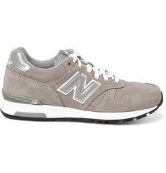 New Balance 565 Suede and Leather Sneakers | MR PORTER