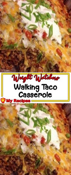Walking Taco Casserole – My Recipes Ww Recipes, Mexican Food Recipes, Low Carb Recipes, Cooking Recipes, Ethnic Recipes, Mexican Dishes, Drink Recipes, Appetizer Recipes, Dinner Recipes