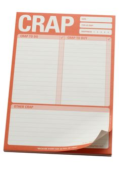 Crap Notepad