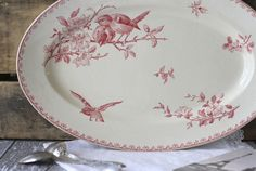 french pottery | RESERVED for MARIA - Antique French Faience Platter - Pattern: Favori ...