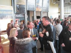 NKU President Mearns visits with alumni during homecoming/chili cookoff