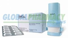 Foradil / Risedronate is used to treat wheezing, shortness of breath, and troubled breathing caused by asthma and it is also used to prevent breathing difficulties (bronchospasms) during exercise and during nighttime sleep. It relaxes and opens air passages in the lungs, making it easier to breathe.  https://www.globalpharmacyplus.com/foradil-formoterol-fumarate