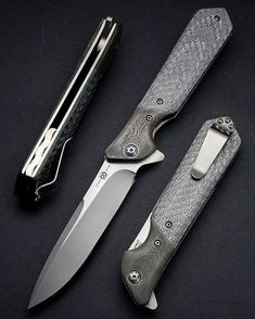 """A year ago we made a handful of this full custom Rainmaker model. It's a 4.125"""" blade with Z-Finit steel. All were one offs, mostly built to order. In the next few months we are bringing it back, but with a new blade shape, and other updates. Unfortunately we didn't keep any, but in a turn of events this one came back home, and just had to be photographed #olamic #olamicrainmaker #usnstagram #usngathering #knifepics #knifepic #knifeporn #knifestagram #bladeporn #customknife #customknives…"""