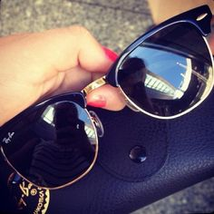 Ray Ban Clubmaster #Ray #Ban #Clubmaster
