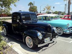 '40 Ford P-up & '54 Chevy
