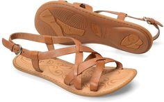 Born Eryka in Cuoio - Born Womens Sandals on Bornshoes.com