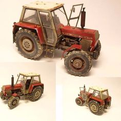Zetor Crystal 8045 TB Models 1/35  By: Michal G. (CZ) From: Not war scale…