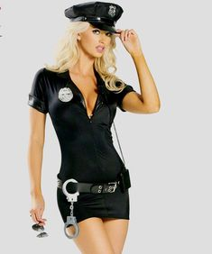 Sexy Outfits, Fancy Dress Outfits, Dress Hats, Costumes Sexy Halloween, Sexy Costumes For Women, Adult Costumes, Adult Halloween, Halloween Cosplay, Sexy Cop Costume