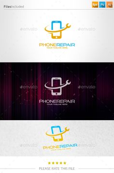 Mobile  Logo Design Template Vector #logotype Download it here: http://graphicriver.net/item/mobile-logo/10963964?s_rank=1122?ref=nexion