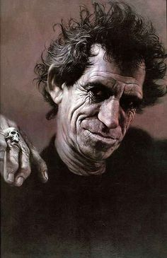 Keith-Richards. The Exhibition of Caricature/Sebastian Kruger / Germany