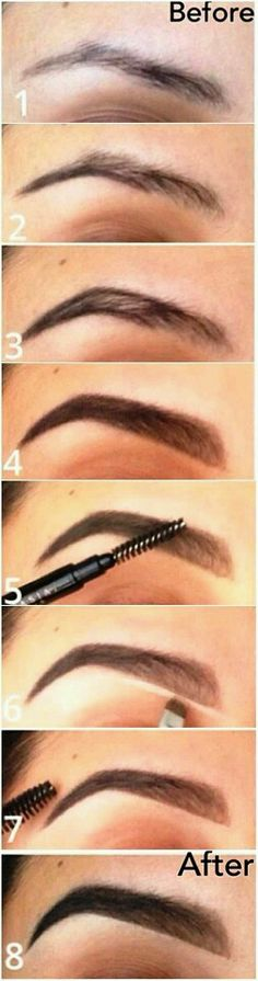 How To Make Your Eyebrows Thicker With Makeup - A Step By Step Tutorial