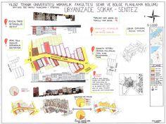 Kuzguncuk Üryanizade Sokak Tasarımı-Sentez Paftası Kuzguncuk Üryanizade Sokak Tasarımı-Öneri Paftası