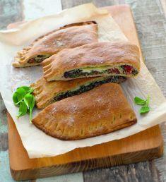 Calzone di kamut con spinaci - Tutte le ricette dalla A alla Z - Cucina Naturale - Ricette, Menu, Diete