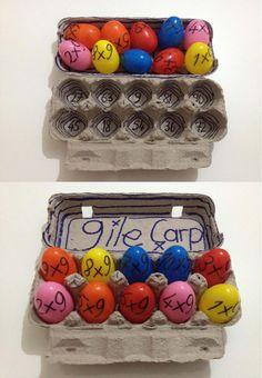 Multiplication activity-Plastic Eggs (Enes Süküt)