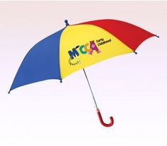 39 Inch Arc Personalized Kids Umbrellas with Hook Handle #usumbrellas #kids #fun