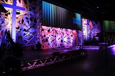 Pick-Up Sticks from Bayside Community Church in Bradenton, FL | Church Stage Design Ideas