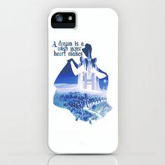 Cinderella iPhone & iPod Case by MargaHG