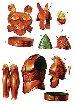 Samnite armor