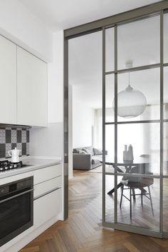 Kitchen Design Ideas – Home Renovation Kitchen Room Design, Modern Kitchen Design, Kitchen Interior, Home Interior Design, Kitchen Decor, Kitchen Ideas, Exterior Design, Home Deco, Kitchen Glass Doors