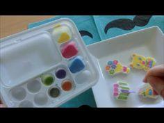 (Japanese sweets)Kracie Popin'Cookin'  Oekaki candy land 【おえかきキャンランド】