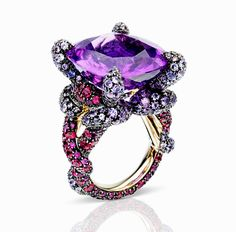 A one-of-a-kind ring from Pomellato's Pom Pom collection.
