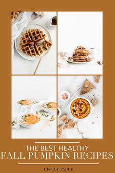 'Tis the season for pumpkin spice and everything nice! Celebrate the flavors of fall all season long with these delicious, healthy pumpkin recipes, including everything from breakfast, to savory snacks, to desserts and cocktails! Savory Pumpkin Recipes, Homemade Pumpkin Puree, Healthy Pumpkin, Vegan Pumpkin, Savory Snacks, Pumpkin Spice, Pumpkin Curry Soup, Pumpkin Risotto, Pumpkin Granola