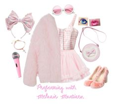 """""""Performing with my Queen Melanie Martinez"""" by the-ravenclaw-princes ❤ liked on Polyvore featuring LILI GAUFRETTE, StyleNanda, Disney and ZeroUV"""