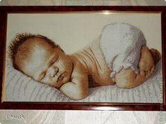 Картинки по запросу вышивка крестом схемы скачать бесплатно младенцы