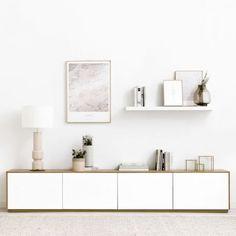Apartment Design, Apartment Living, Living Room, Rack Tv, Modern Tv, Minimalist Home, Cool Furniture, New Homes, Lounge