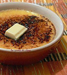 La meilleure recette de Crème brûlée au chocolat blanc! L'essayer, c'est l'adopter! 3.8/5 (5 votes), 3 Commentaires. Ingrédients: - 40g de chocolat blanc - 3 jaunes d'oeufs - 20 cl de crème liquide - 30 g de sucre - cassonade