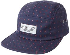 Quiet Life  Diamonds 5-Panel Hat - Navy