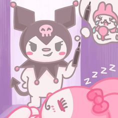 Cute Icons, Sanrio, Hello Kitty, Minnie Mouse, Disney Characters, Fictional Characters, Pastel, Kawaii, Stickers
