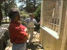 Video: Building a mudroom on a split level entry