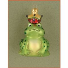 Froggy Prince - Personalized Family Christmas Ornament