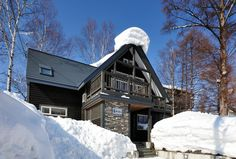 Hirafu Vacation House Rentals: Chalet, Villa, House, Cottage, Apartment and more Holiday Rentals, Niseko: Modern vacation rental Ski house @HolidayPorch https://www.holidayporch.com/rental-379