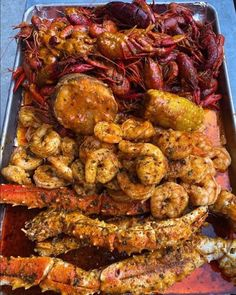 SEAFOOD PLATE Chicken Wings, Shrimp, Seafood, Plate, Sea Food, Dishes, Plates, Dish, Seafood Dishes