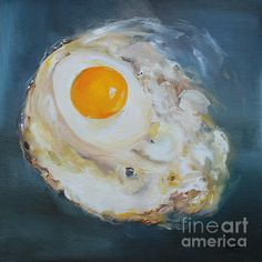Fried Egg by Kristine Kainer